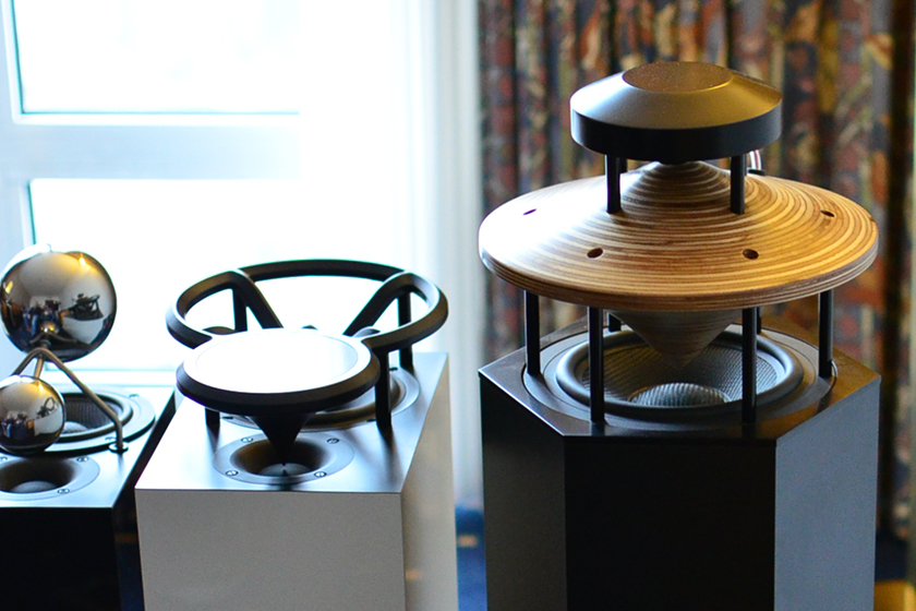 Omnidirectional horn speakers from Duevel – Planets, Enterprise and Venus