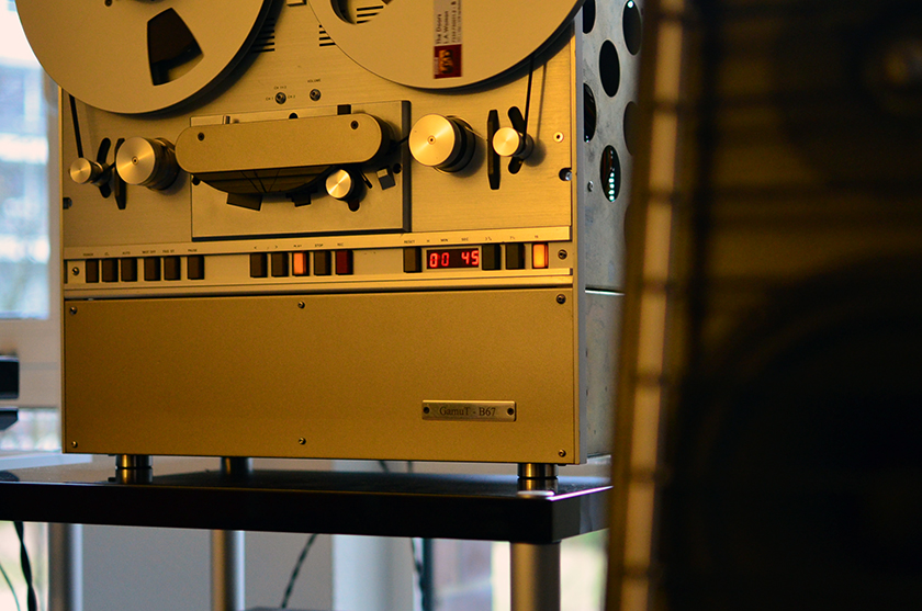 GamuT B67 reel-to-reel tape machine
