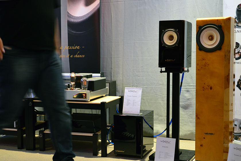 Voxativ Hagen and Zeth full-range loudspeakers