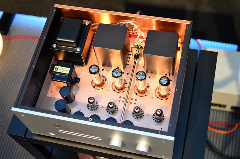 Kondo Overture EL34 Push-Pull stereo integrated amplifier