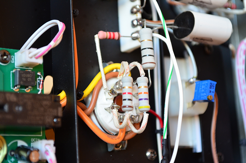 Line Magnetic LM-211IA integrated tube amplifier wiring