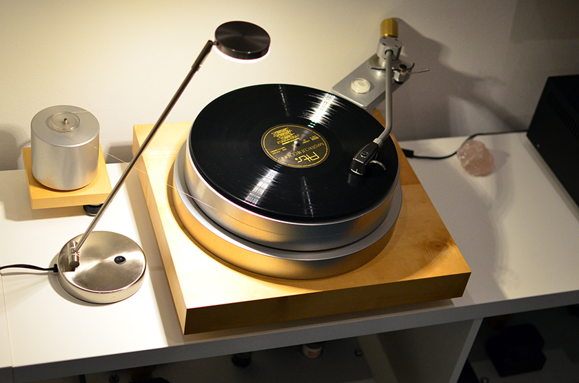 "Methe's Acoustic Signature turntable with 12"" tonearm from Michael Wiedemann"