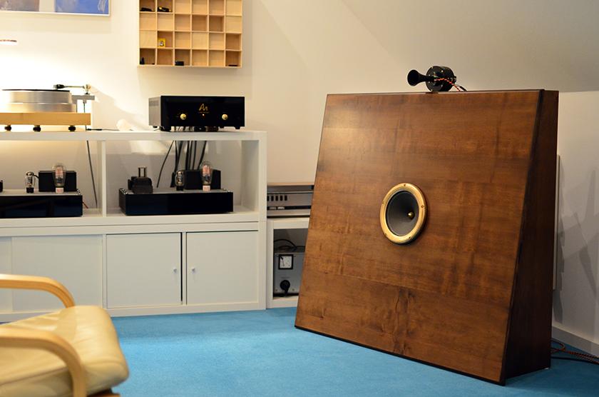 Michael Methe's listening room