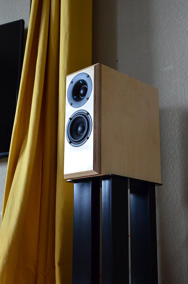 Bernd Timmermans' Micro Block MK2 compact loudspeakers