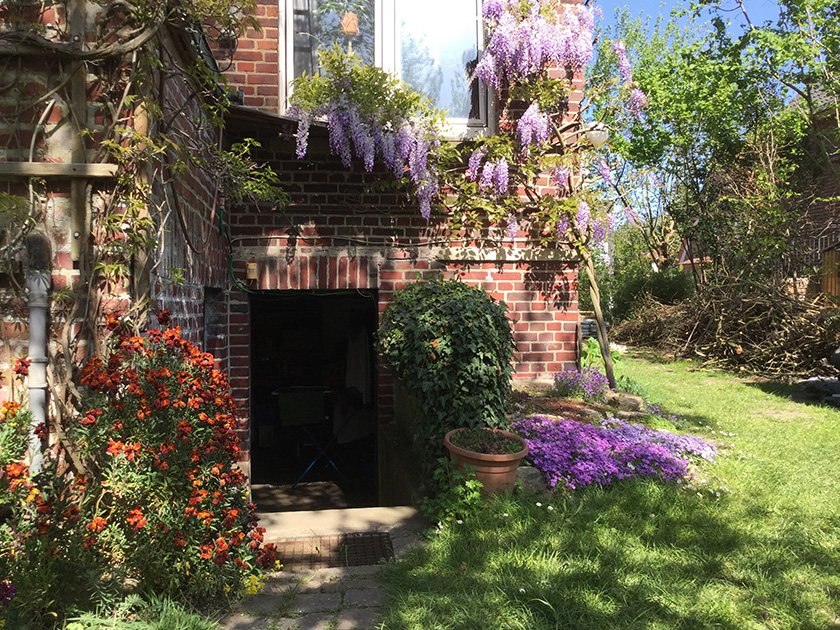 Nadia's beautiful garden